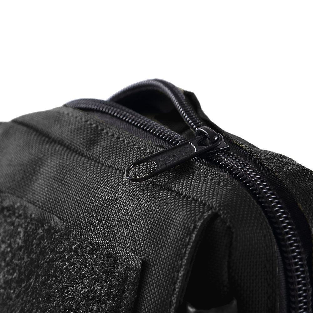 Military Travel Waist Pack Mini Velcro Waist Bag Army Molle Pouch Utility Belt Pouch Mess Bag for Outdoor Sports