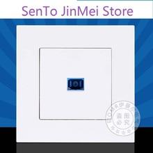 Im A Fiber Socket 86 Type Wall Socket Panel Light Drill Panel SC Information Socket