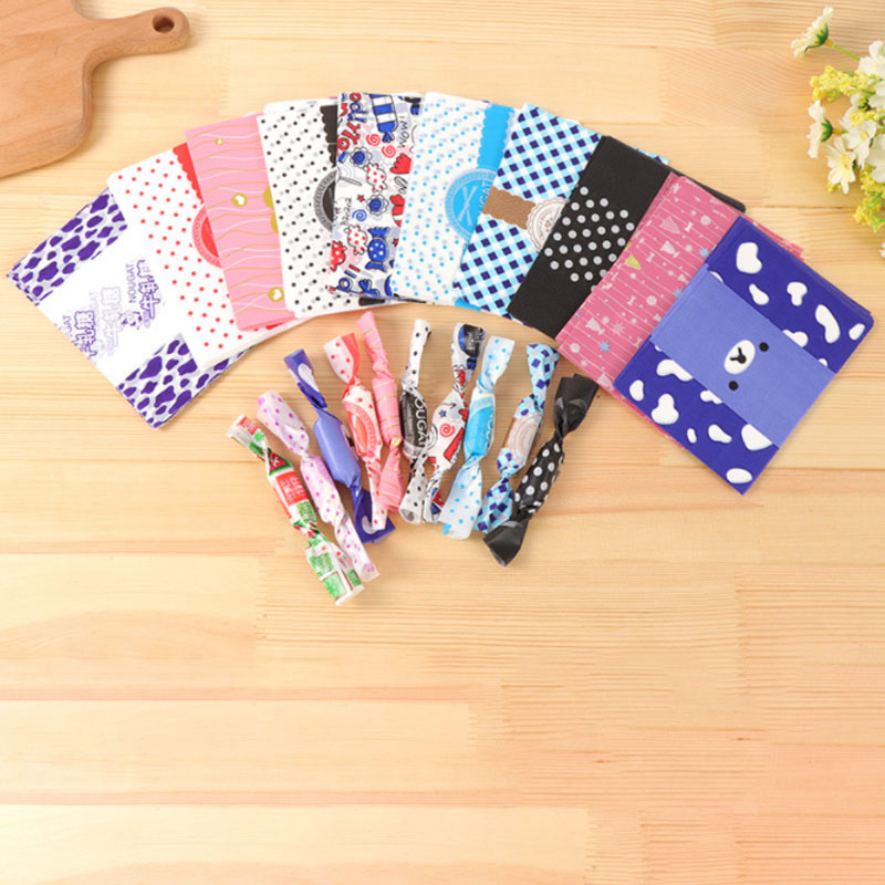 Pad Paper Party Wedding Decoration  Nougat Wrapping Paper  Cookie Gift Box  Snack Food Packaging Candy Bag Cute Cartoon