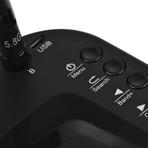 Image 5 - מיני FPV משקפי 3 אינץ 480x320 תצוגה כפולה קבלת אנטנת 5.8G 40CH עם סוללה עבור RC FPV מירוץ Drone Quadcopter