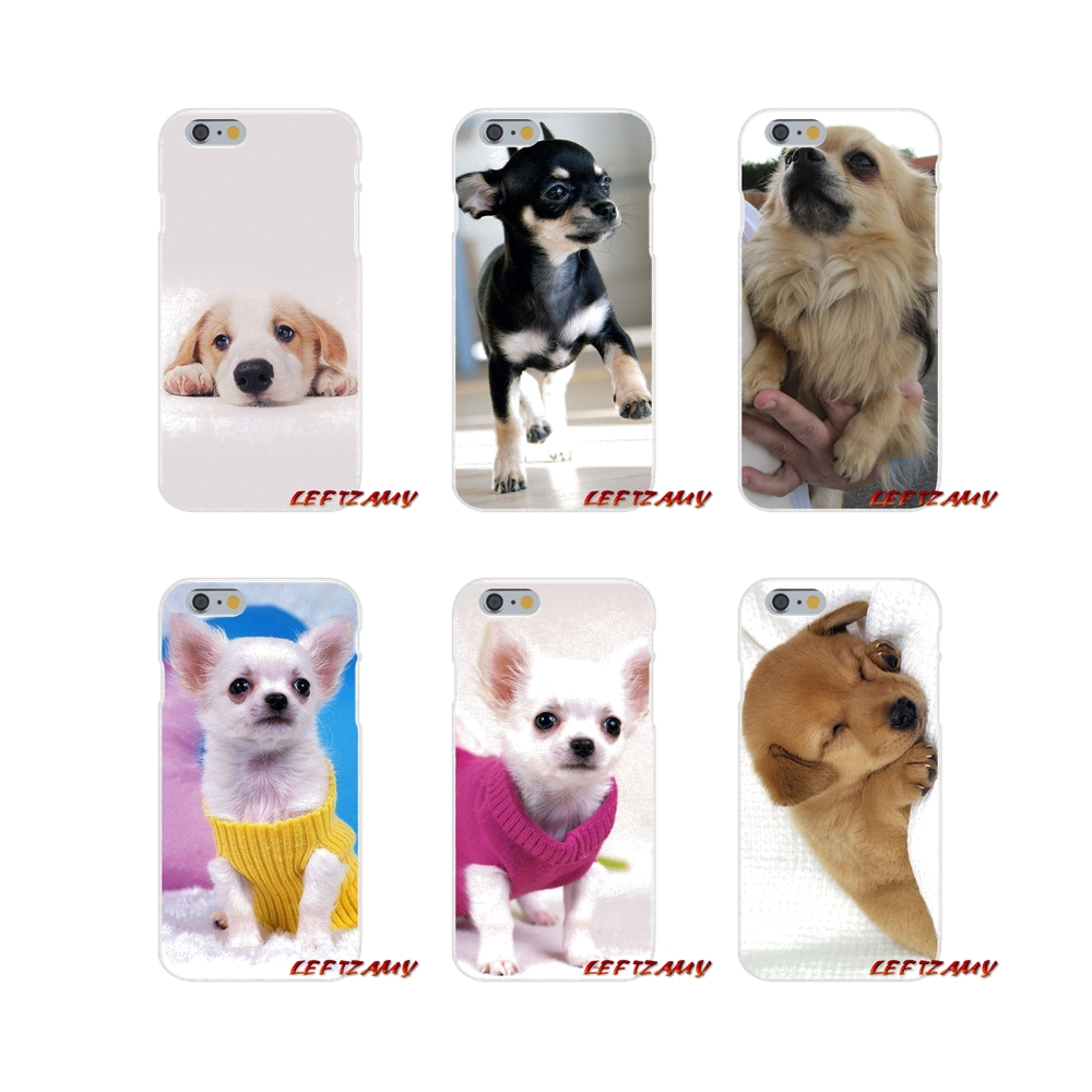 Transparent Clear TPU Case For Xiaomi Mi6 <font><b>Mi</b></font> 6 A1 Max Mix 2 5X 6X Redmi Note 5 5A 4X 4A <font><b>A4</b></font> 4 3 Plus Pro Love Chihuahua dog puppy image