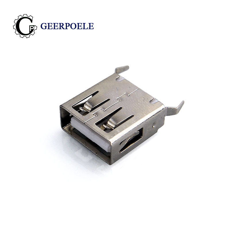 10 pcs/lot USB 2.0 Female Type A Curved Legs 4 Pin Connectors USB Connector Jack Tail Plug Sockect Terminals usb female10 pcs/lot USB 2.0 Female Type A Curved Legs 4 Pin Connectors USB Connector Jack Tail Plug Sockect Terminals usb female