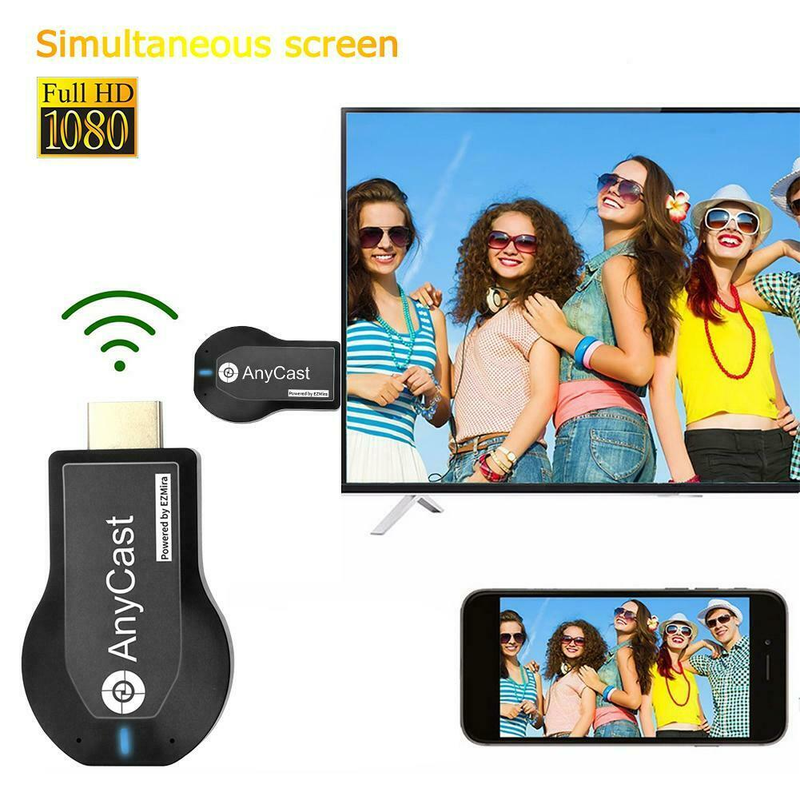 Dongle Receiver Stick-Wifi-Display Andriod Any-Cast Air-Play Hdmi 1080p Tv New Iii