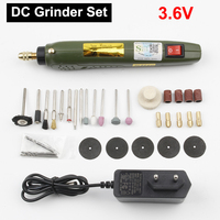 3.6V100 Sets Mini Drill Wireless Electric Grinding Lithium Electricity Rechargeable Engraving Pen Micro Grinder DIY Tool