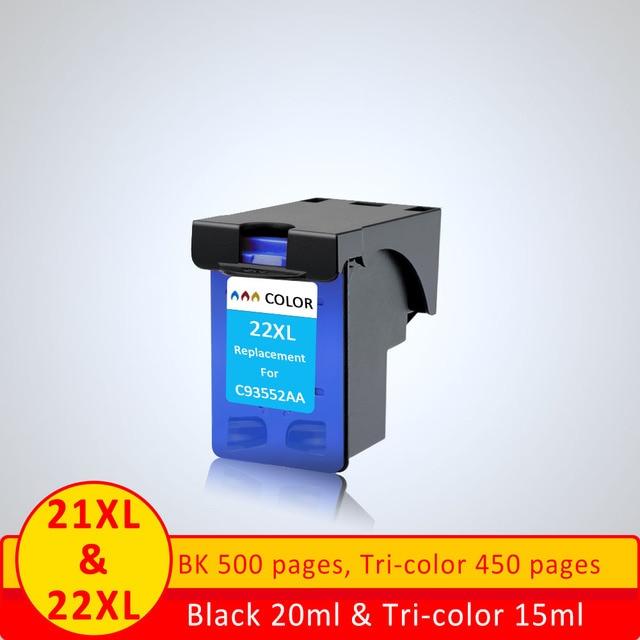 XiangYu для hp21 чернильный картридж Замена для hp 22XL картридж для HP Deskjet 3915 3920 D1320 F2100 F2280 F4180