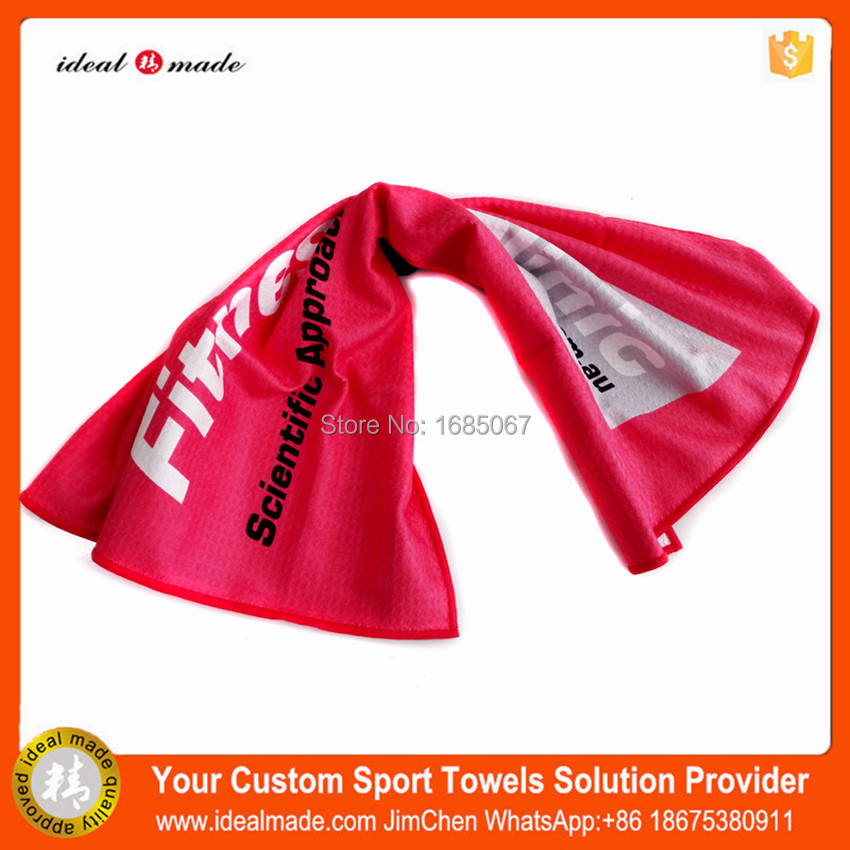 2017 hot sale! Idealmade customized Organic towel with Private Label For outdoor sports