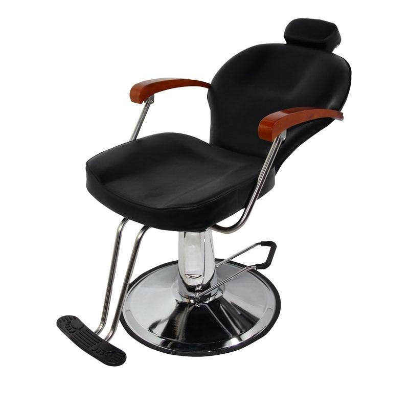 Haircut Hairdressing Chair Stool Down The Barber Chair