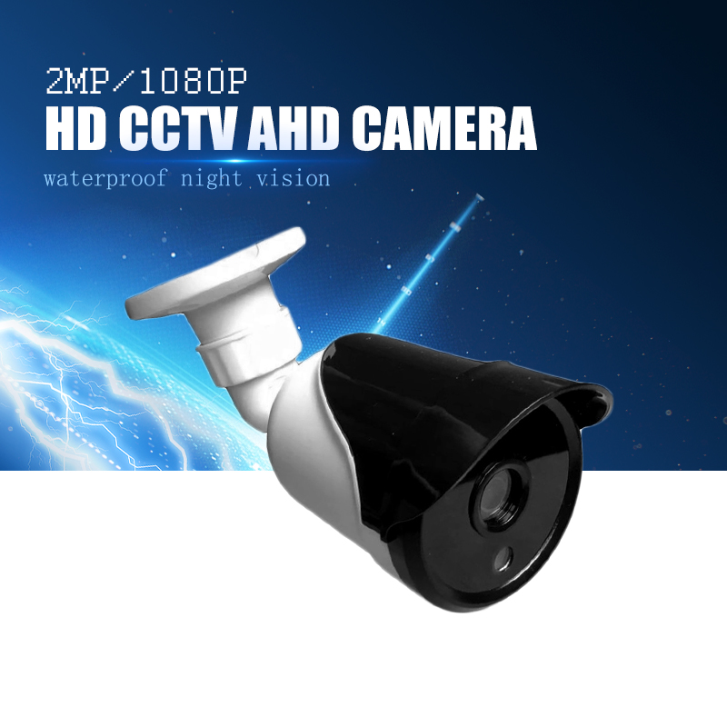 YiiSPO 720P 1080P bullet HD AHD Camera 1.0MP 2.0MP outdoor waterproof Night Vision 3.6mm security camera