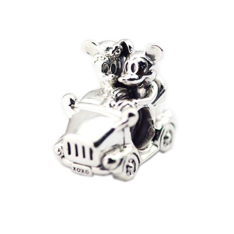 Pandulaso Mouse Lover Vintage Car Charm Fashion Beads For Jewelry Making Fits Sterling Silver Jewelry Bracelets For Woman GiftPandulaso Mouse Lover Vintage Car Charm Fashion Beads For Jewelry Making Fits Sterling Silver Jewelry Bracelets For Woman Gift