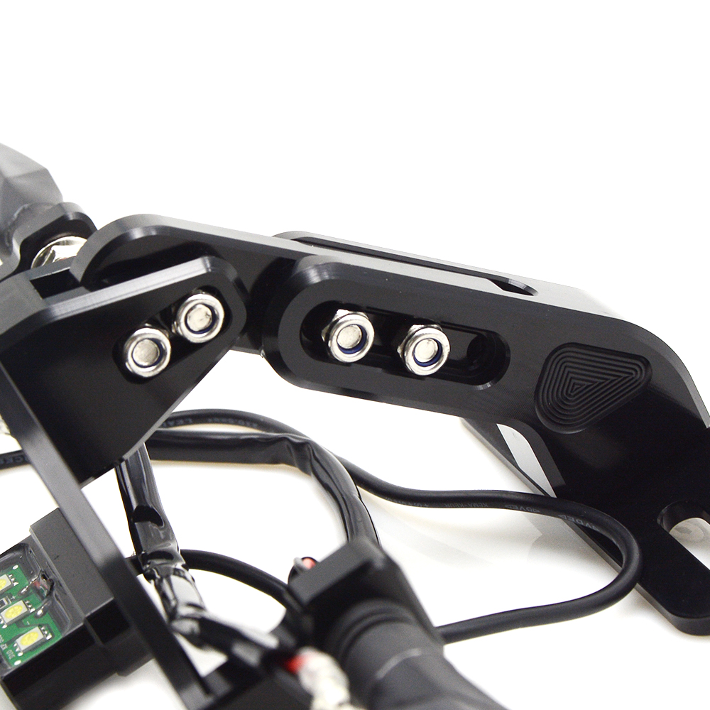 Image 5 - Fender Eliminator License Plate frame Turn Signal Light tail tidy For Honda CBR 400RR 900RR 893cc 919RR SC33 NC29 NC28 1992 1999-in License Plate from Automobiles & Motorcycles