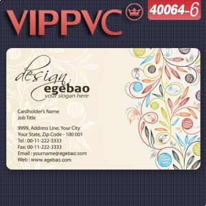 40064-6 Best Business cardsPVC Card Matte
