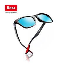 2019 Roza Sunglasses Men Polarized black Rivet Classic High Quality Unisex Vintage square  Women Brown Gafas De Sol UV400 RZ0622