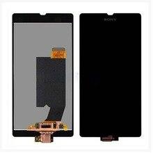 Купить онлайн Оригинальный Для sony Xperia Z L36H L36i C6606 C6603 C6602 C660X ЖК-дисплей Дисплей с Сенсорный экран планшета Ассамблеи