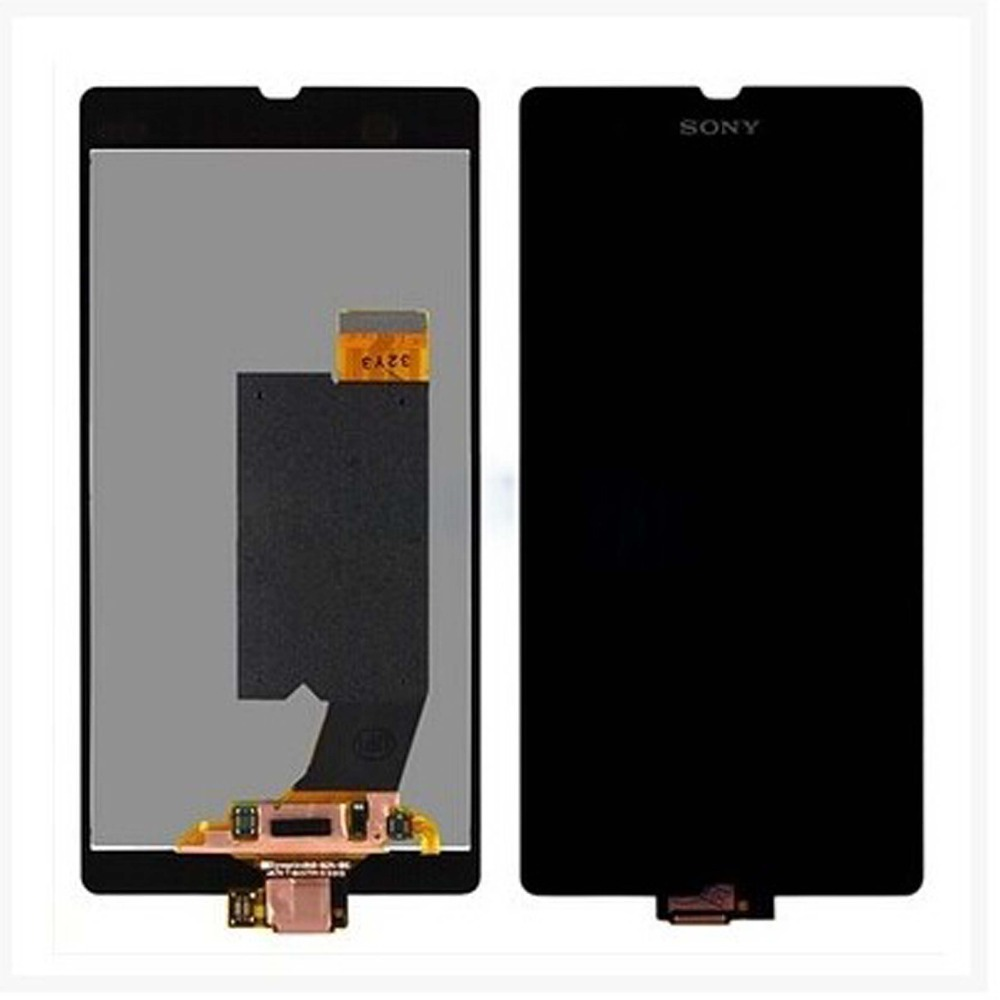 Originale Per Sony Xperia Z L36H L36i C660X C6603 C6602 C6606 Display LCD con Touch Screen Digitizer Assembly