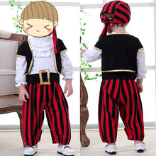 Spring Newborn Baby Boys Clothes Sets Long Sleeve Striped Romper + Vest+Hat 3pcs Baby Boy Outside Wear Pirate Suit Clothing Sets 2017 spring newborn baby boy clothes bow lie kids suit clothing sets 3pcs children bebe solid cloth outfit sport coats boys