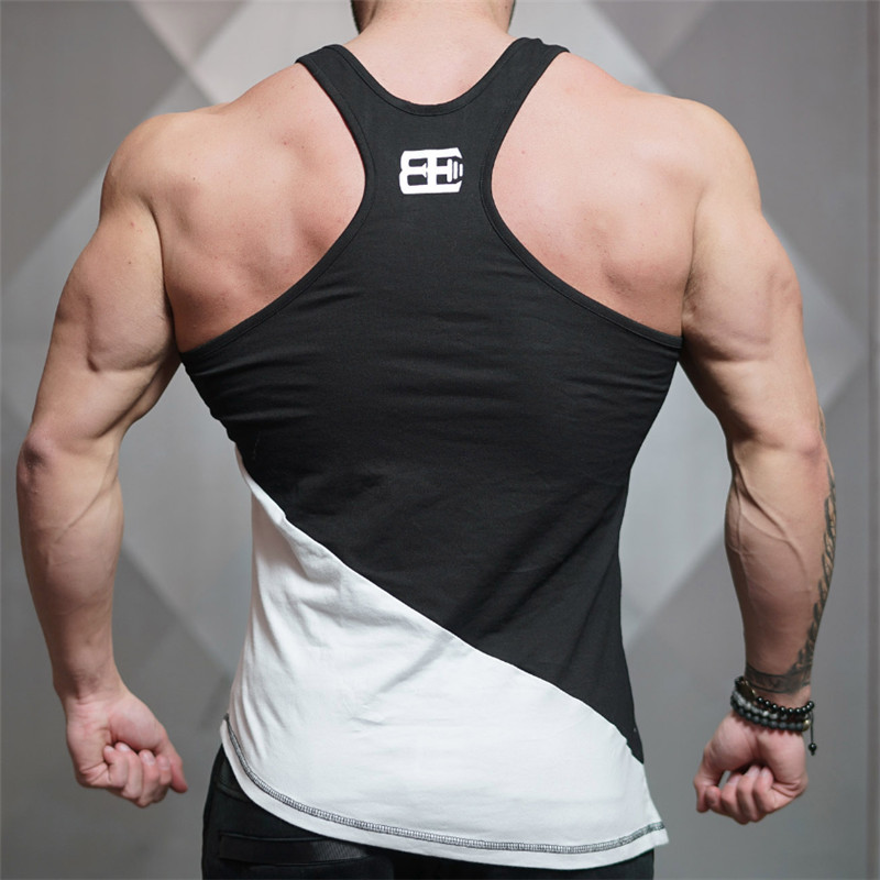 f53983ec407 Gyms bodyengineers 2017 men Summer fitness sleeveless Quick drying  breathable vest aesthetic cotton printing casual tops tankUSD  13.28-14.58 piece