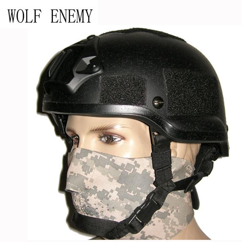Tactical MICH 2002 Puls Frame Helmet Replica Helmet For CS Equitment Protective Helmet
