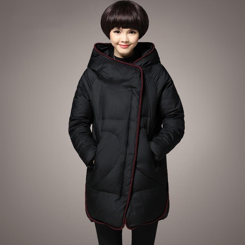 3XL Winter Jacket Women 2016 Fashion Design Medium Long ...