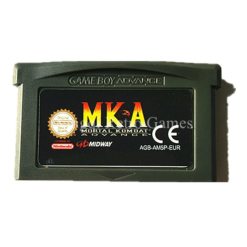 Nintendo GBA Game Mortal Kombat Advance Video Game Cartridge Console Card EU English Language