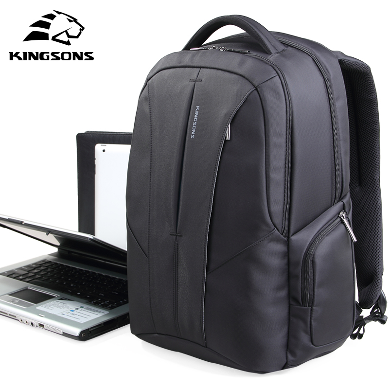 Kingsons Large Capacity 15.6 inch Laptop Backpack Multifunctional Rucksack Shockproof Airbag Anti-theft Waterproof Computer bag kingsons brand backpack men bag 15 6 inch laptop large capacity multifunction fallow backpack anti theft waterproof school bag