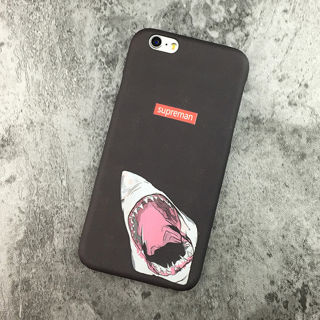 wholesale dealer 04905 f27e5 US $6.98 |Hot Bape Shark Case For iPhone 7 6 6s Plus Bape Shark Army Phone  Case Cover For iPhone 6 6s Hard PC Matte Coque Fundas on Aliexpress.com |  ...