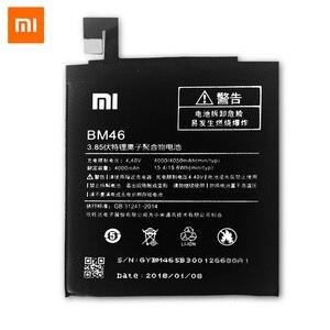 Image 3 - Xiao mi bm46 original bateria para xiao mi nota 3 nota vermelha 4 4x3 pro 3 s 3x 4x mi 5 bn43 bm41 bm47 bm22 baterias de substituição