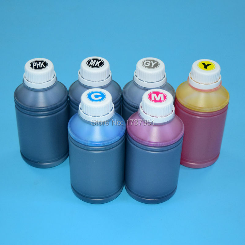 цена на HP72 6 color 500ml printing pigment and dye ink for HP Designjet T610 T620 T770 T790 T1100 T1120 T1200 T1300 T2300 72