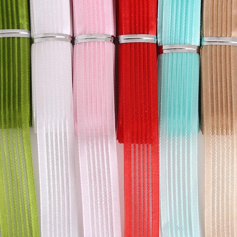 18 мм 5 метров 5 очков чистая Ленты для создания художественных промыслов Вышивание одежда Вышивание Ткань Ленты