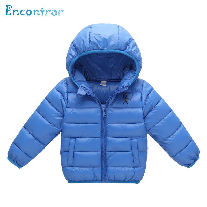 Encontrar Boys Solid Hooded Soft Jackets Children's Zipper Windproof Parkas Outerwear Kids Warm Coat for Baby Girls 18M-6T,DC271