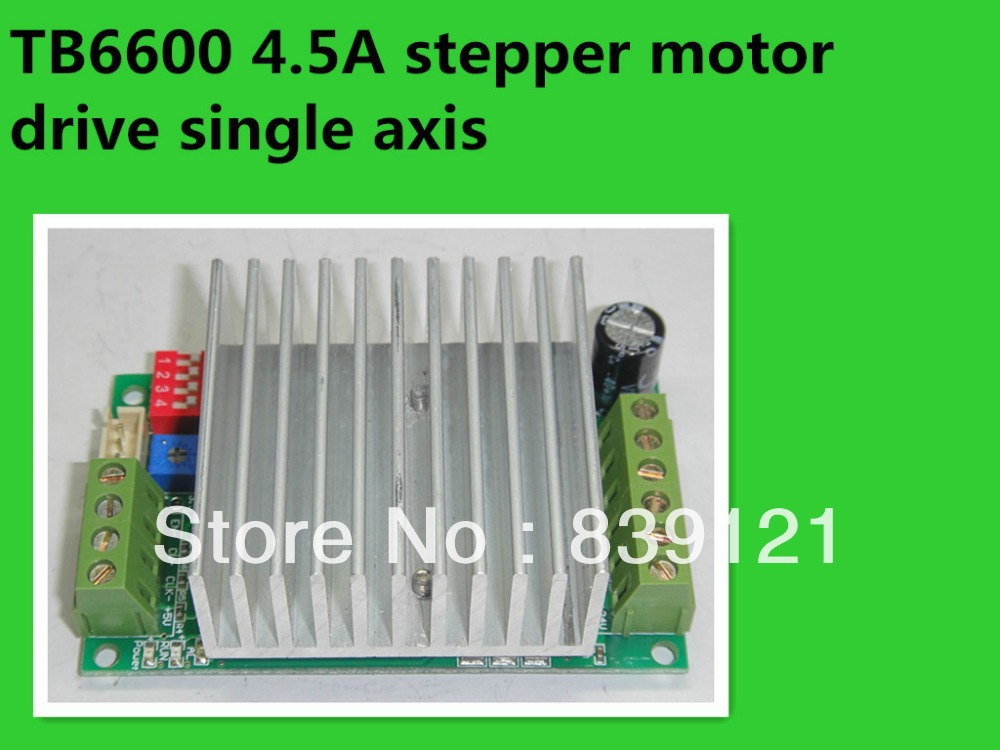 TB6600 4.5A stepper motor drive single axis stepper motor driver board controller toothed belt drive motorized stepper motor precision guide rail manufacturer guideway