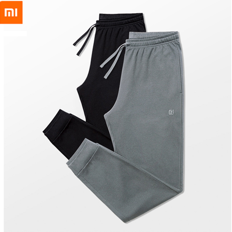 new xiaomi Men s knit home beam pants soft comfortable Breathable Leisure home trousers Double sided