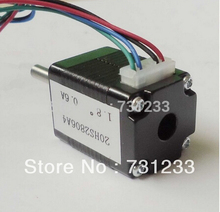 цена на Free Shipping! 1.8 degree 4-lead NEMA 8 Stepper Motor with 1.4N.cm Holding Torque Body Length 28mm CE ROHS CNC Stepping Motor