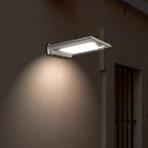 Image 4 - Süper parlak 46 LED açık güneş ışıkları güç ışık PIR hareket sensörü güvenlik su geçirmez bahçe için güneş lambası sokak