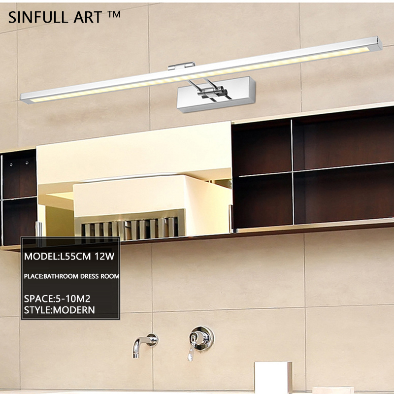 most buy sinfull stainless steel bathroom lights simple mirr