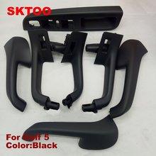 7 unidades/conjunto frete grátis para VW Golf 5 GTI MK5 Jetta MK5 Sagitar HandleTop porta Interior preço de fábrica de qualidade interno apoio de braço