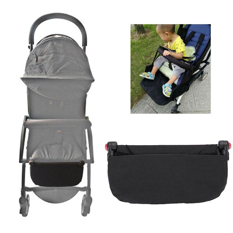 Детская коляска расширение Подставка для ног Аксессуары для коляски подставка для ног бампер бар черный