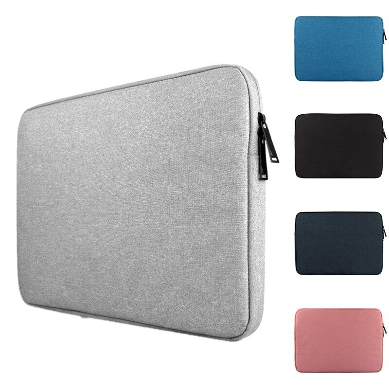 Impermeable bolso portátil caso Macbook Pro Retina de 13,3 para Lenovo 11 12 13 14 15 15,6 pulgadas Bolsa de la cremallera