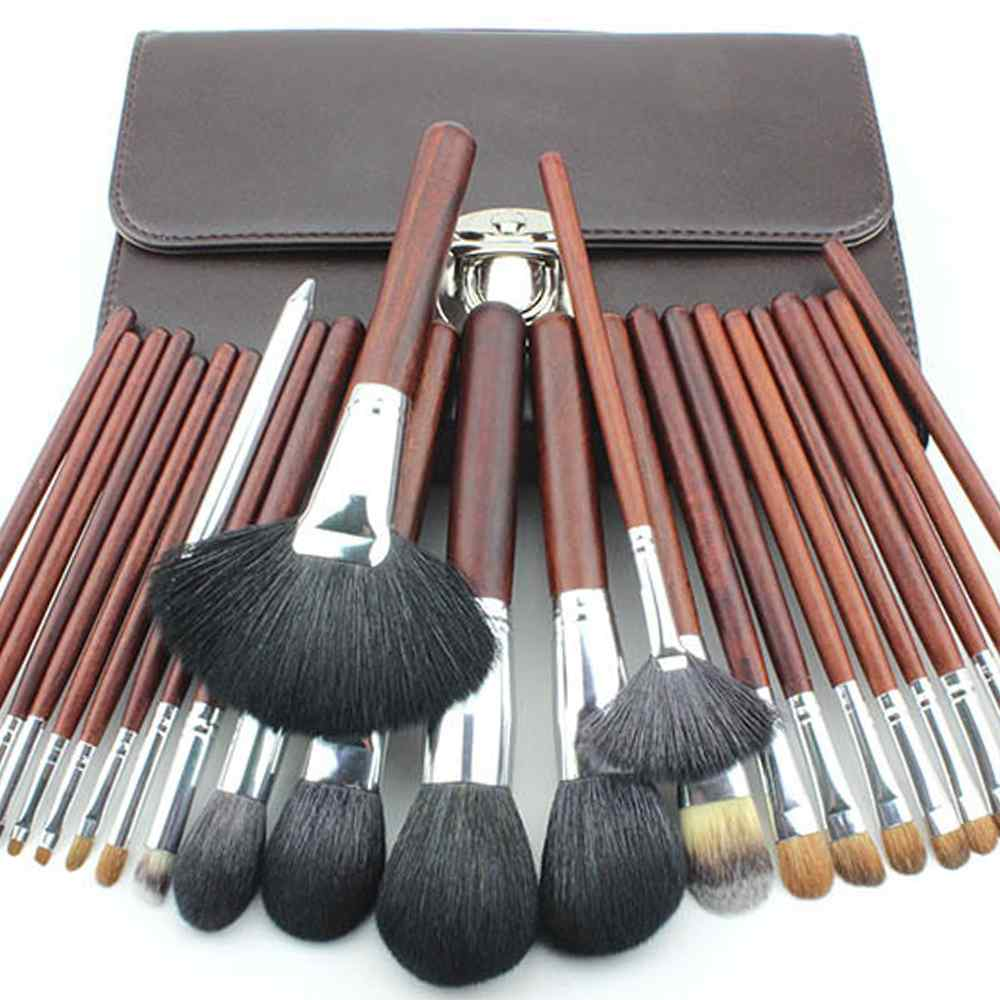 High Quality 26 pcs Makeup Brushes Professional Makeup Brush Set Goat Hair Brushes For Make Up Beauty Makeup Tools msq 15pcs professional makeup brushes set foundation fiber goat hair make up brush kit with pu leather case makeup beauty tool