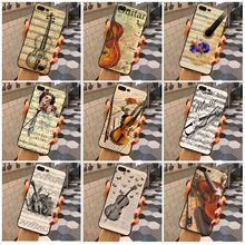 Violin Phone Case Cover For Apple iPhone