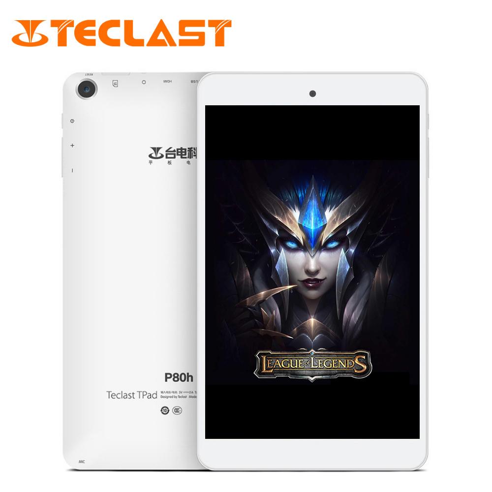 Prix pour Teclast P80H PC Comprimés 8 pouce Quad Core Android 5.1 64bit MTK8163 IPS 1280x800 Double WIFI 2.4G/5G HDMI GPS Bluetooth Tablet PC
