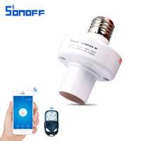 Sonoff Slampher Wireless Smart Remote Control Switch E27 433MHz RF Light Holder