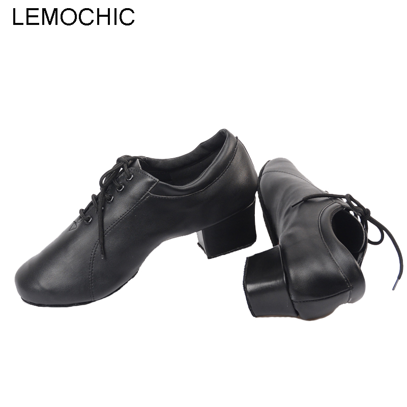 LEMOCHIC male models tango jazz tap samba tap latin newest good quality comfortable suitable for all year men dancing shoes