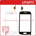 "Original 4.0"" For Samsung Trend Lite GT-S7390 S7392 Touch Screen Panel Sensor Lens Glass Free Shipping+Tracking Code"