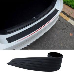 Автомобильный Стайлинг, защита заднего бампера, накладка, защита от царапин, краска для автомобиля, защита для сиденья, Леон для VW Golf Jetta Passat