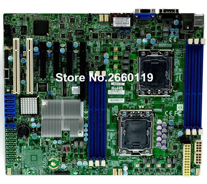 Serveur carte mère pour X8DTL-IF LGA1366 DDR3 système carte mère, entièrement testé