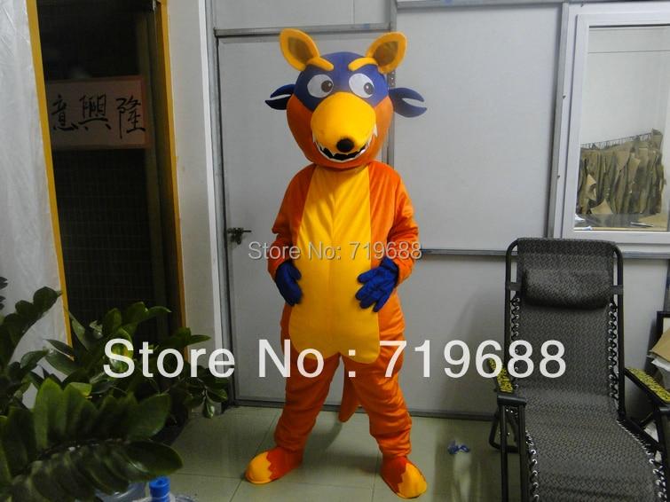 aliexpresscom buy adult fox mascot costumes free shipping doras friend swiper fox mascot costumes for adults doras friend swiper fox costumes from - Swiper Halloween Costume