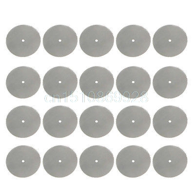 20Pcs/Set 32mm Steel Wood Cutting Wheel Saw Blade Disc Dremel Rotary Tool Craft