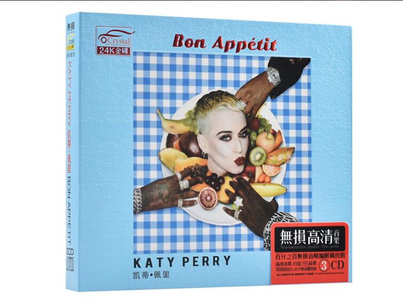 Free Shipping: Katy Perry Roar + Song Featured Album Car 3CD Seal
