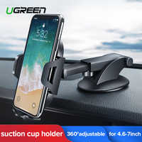 Ugreen Car Phone Holder No Magnetic Gravity Stand in the Car Suction Cup Support Holder for Your Mobile Phone Xiaomi iPhone XR