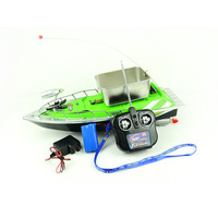 Electric RC Fishing Bait Boat Lure Carp Hook Wireless Boat Carrier Red 100M Remote Control For Fish Finder